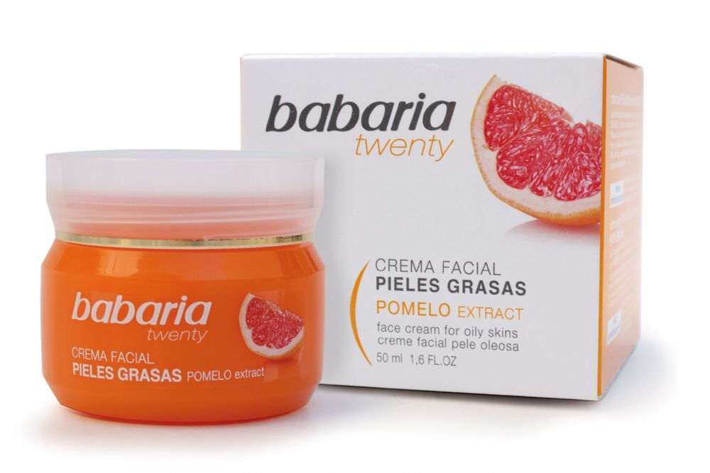 Babaria Aloe Vera Amp Grapefruit Face Cream For Oily Skin